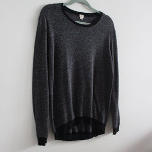 Aritzia Wilfred Grey Crew Neck Sweater